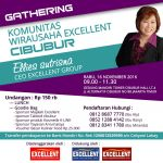 Excellent Gathering Gathering Komunitas Wirausaha Excellent CIBUBUR whatsapp image 2016 11 03 at 18 07 51